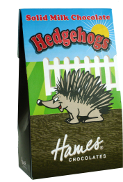 Solid Milk Chocolate Hedgehogs